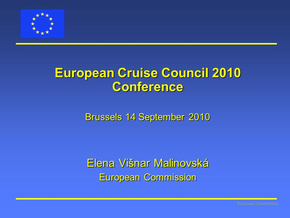 European Cruise Council 2010 Conference