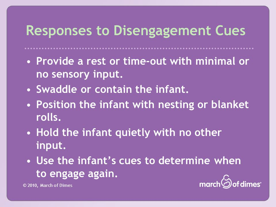 Responses to Disengagement Cues