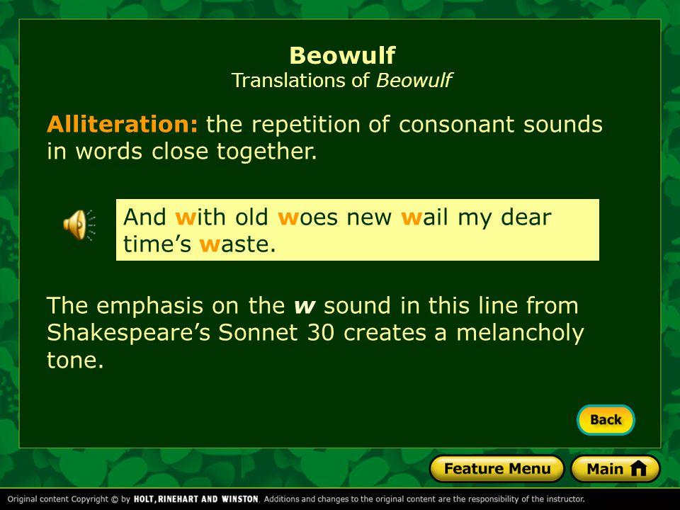 Beowulf Translations of Beowulf