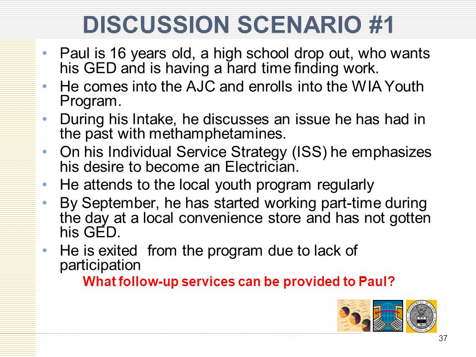 What follow-up services can be provided to Paul