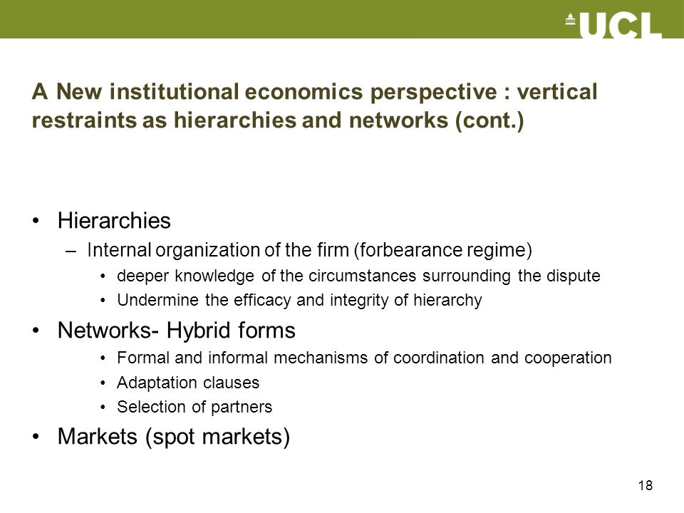 Networks- Hybrid forms