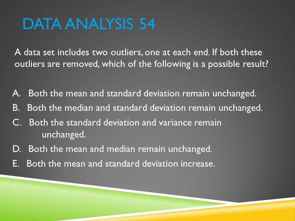 Data Analysis 54