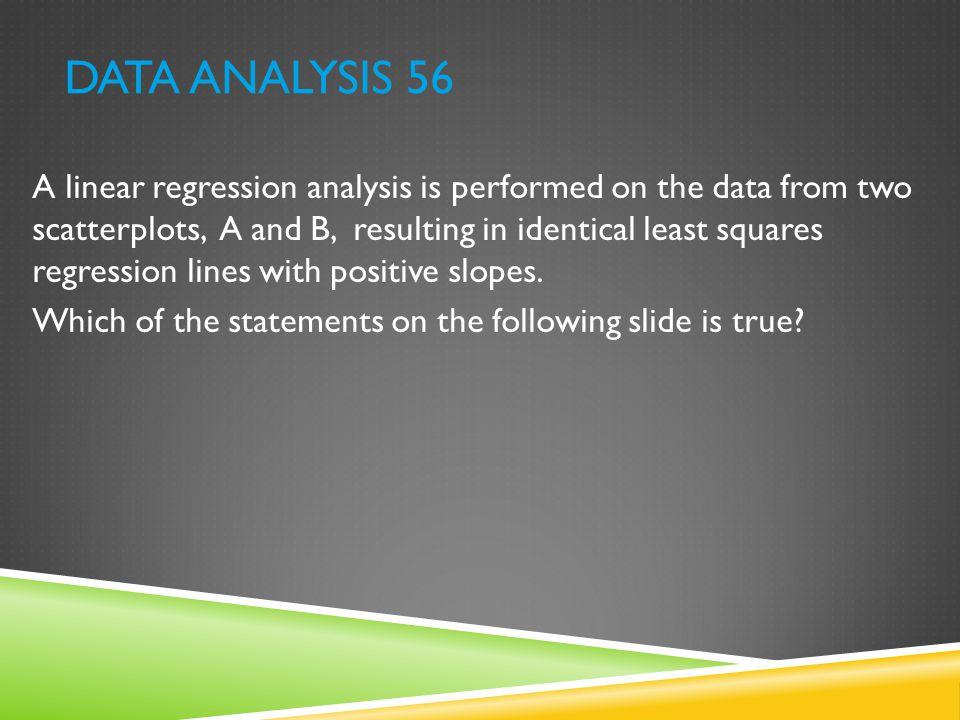 Data Analysis 56