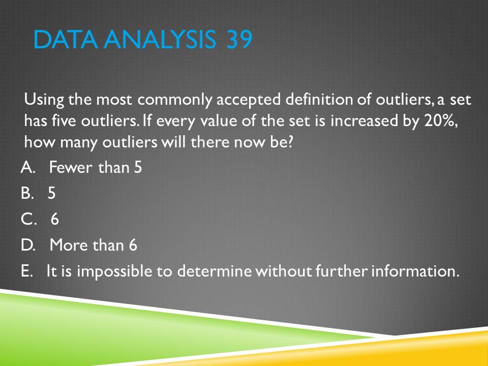 Data Analysis 39