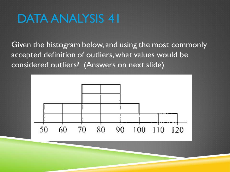 Data Analysis 41