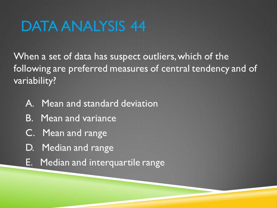Data Analysis 44