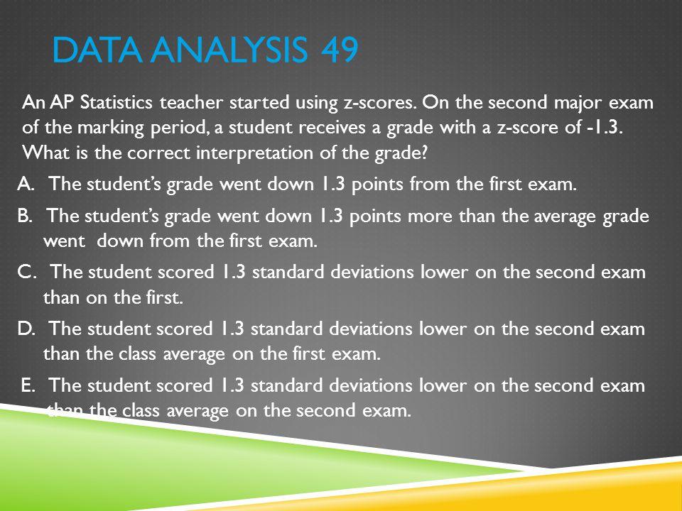 Data Analysis 49