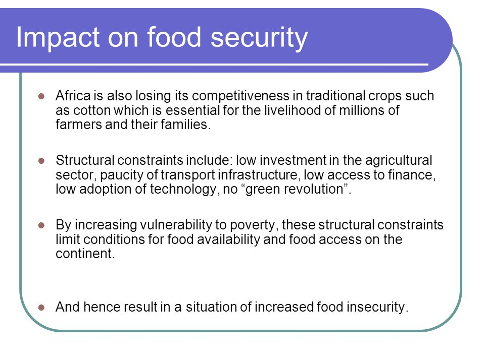 Agricultural Policies And Food Security Ppt Video Online