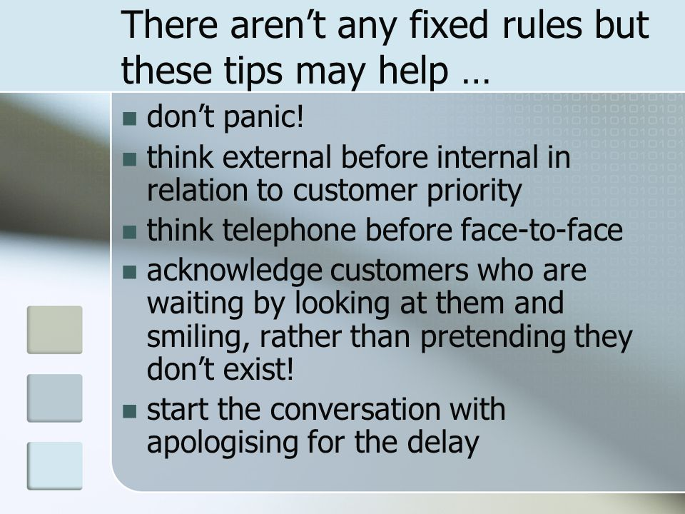 There aren't any fixed rules but these tips may help …