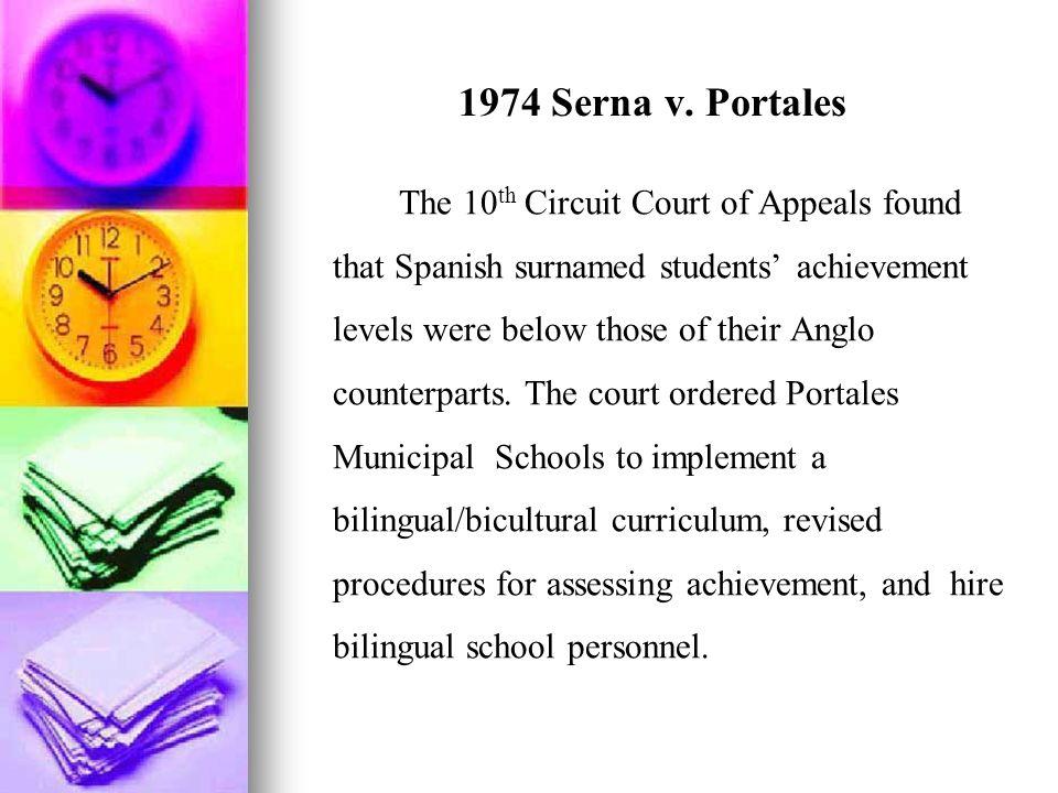 1974 Serna v. Portales