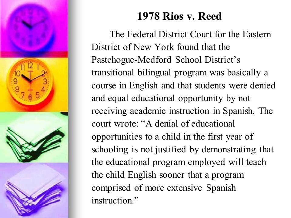 1978 Rios v. Reed