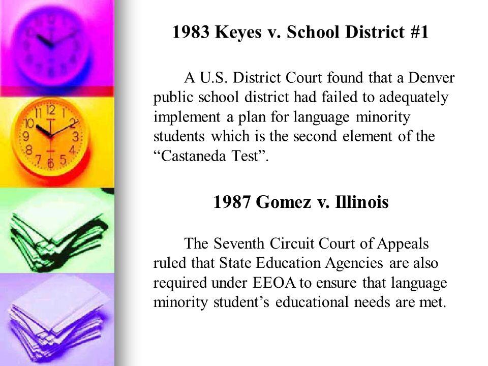 1983 Keyes v. School District #1