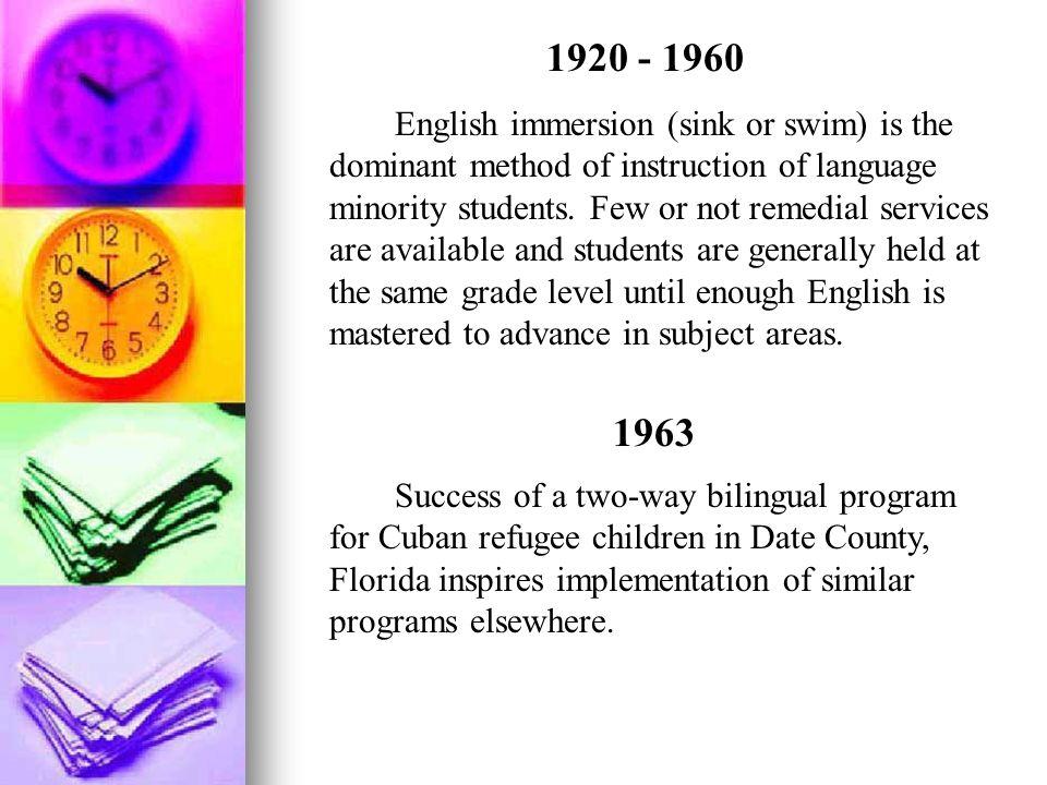 1920 - 1960