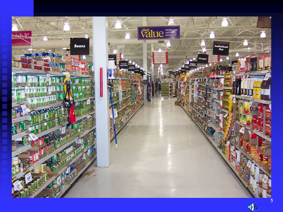 If it were not for the knowledge of food science, most of these food products would not be readily available.
