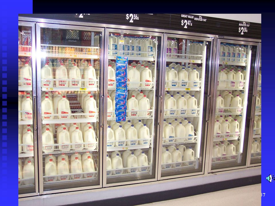 Pasteurization of milk is required in most states