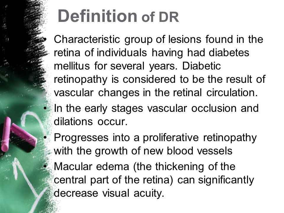 Definition of DR