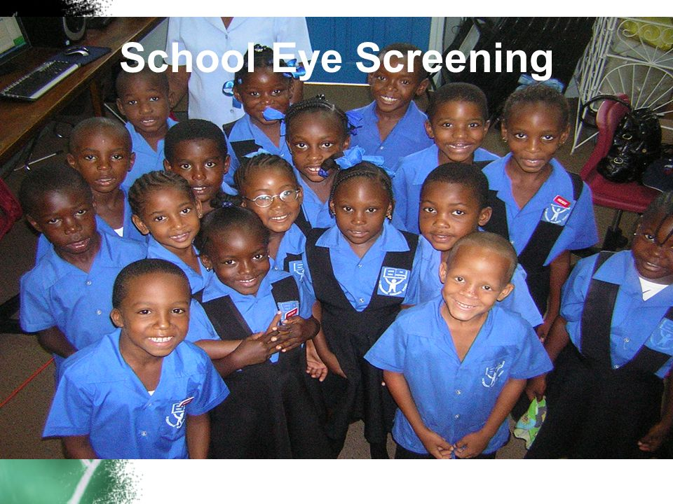 School Eye Screening This workshop is funded by the European Union