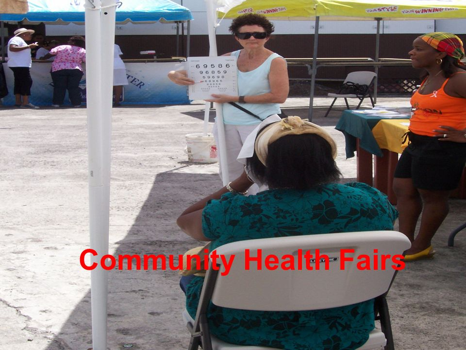 Community Health Fairs