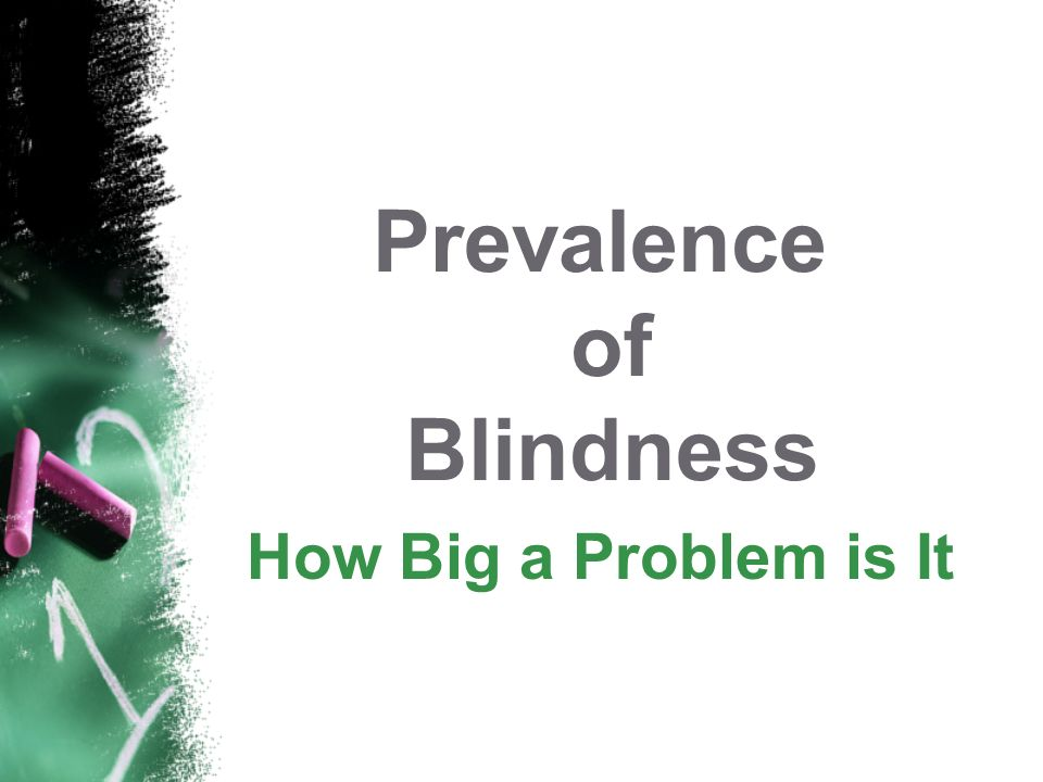 Prevalence of Blindness