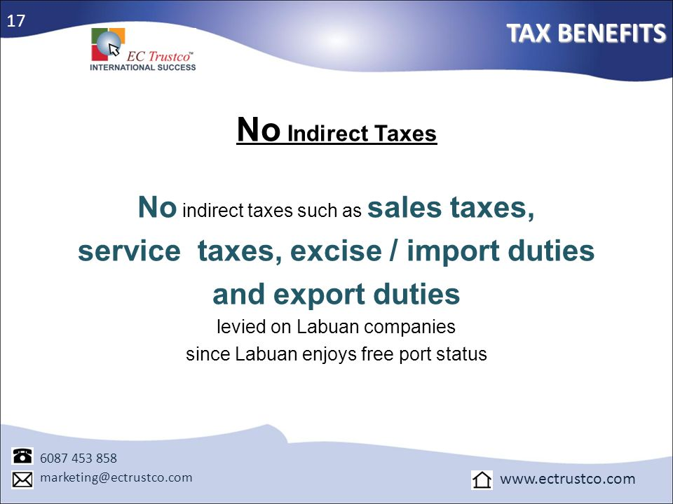 service taxes, excise / import duties