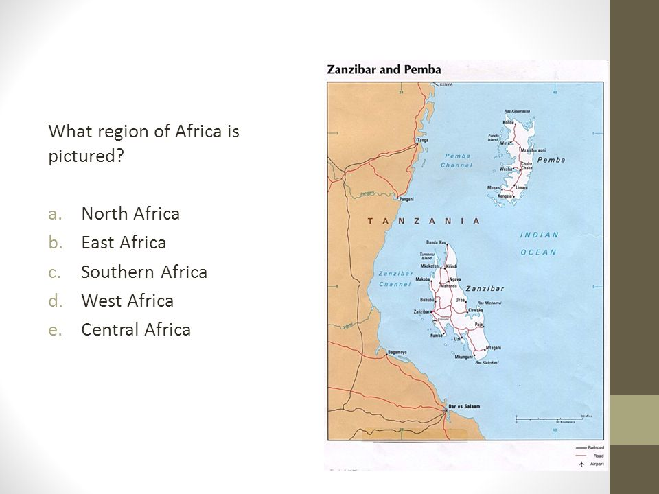 What region of Africa is pictured