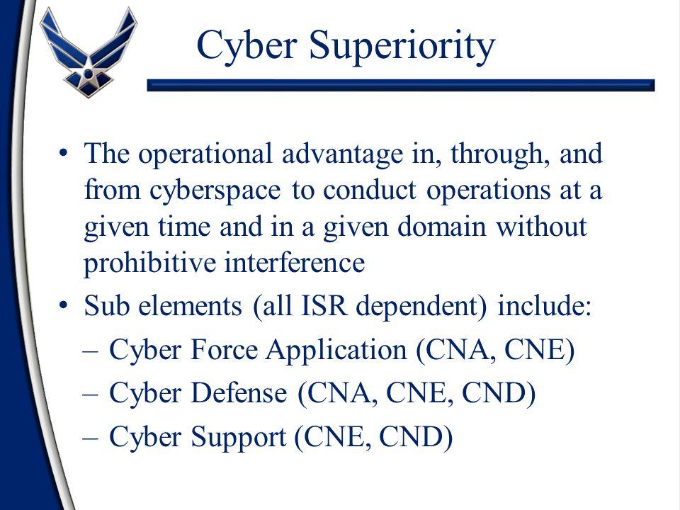 Cyber Superiority