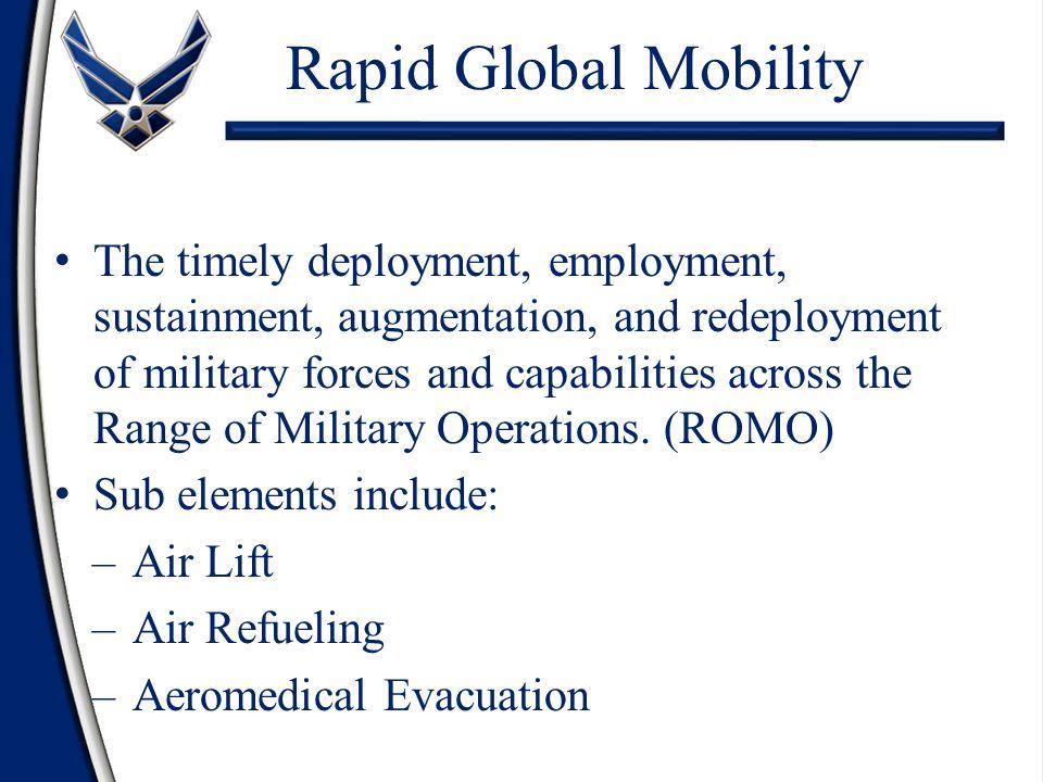 Rapid Global Mobility