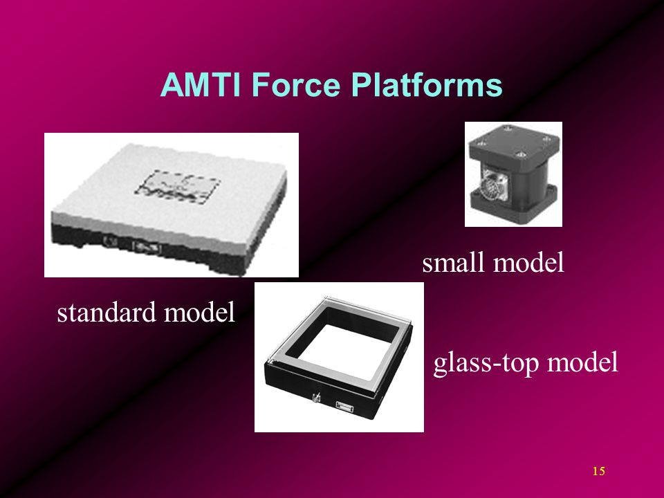 AMTI Force Platforms small model standard model glass-top model
