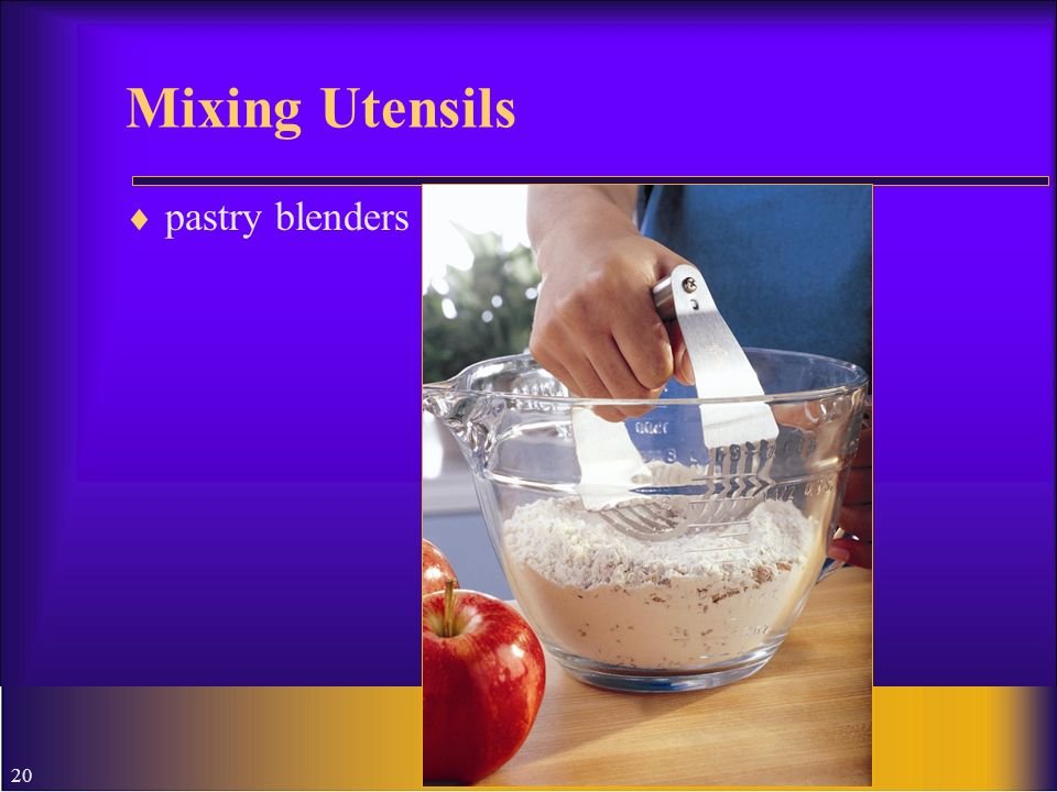 Mixing Utensils pastry blenders