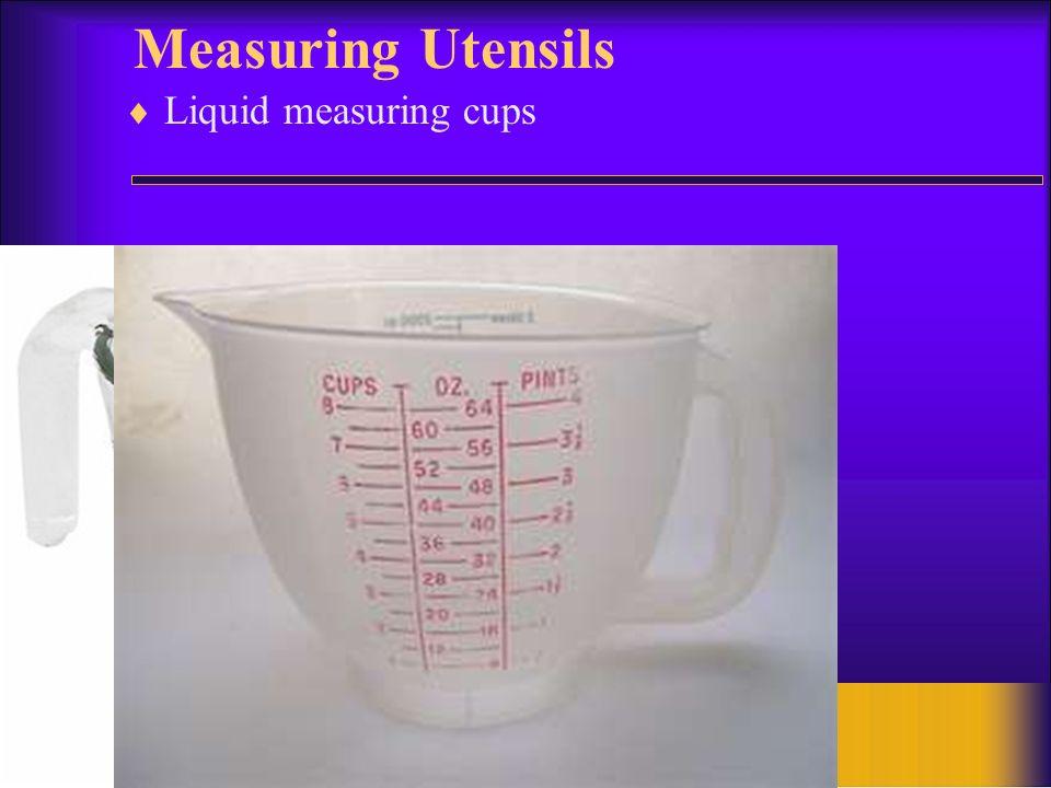 Measuring Utensils Liquid measuring cups