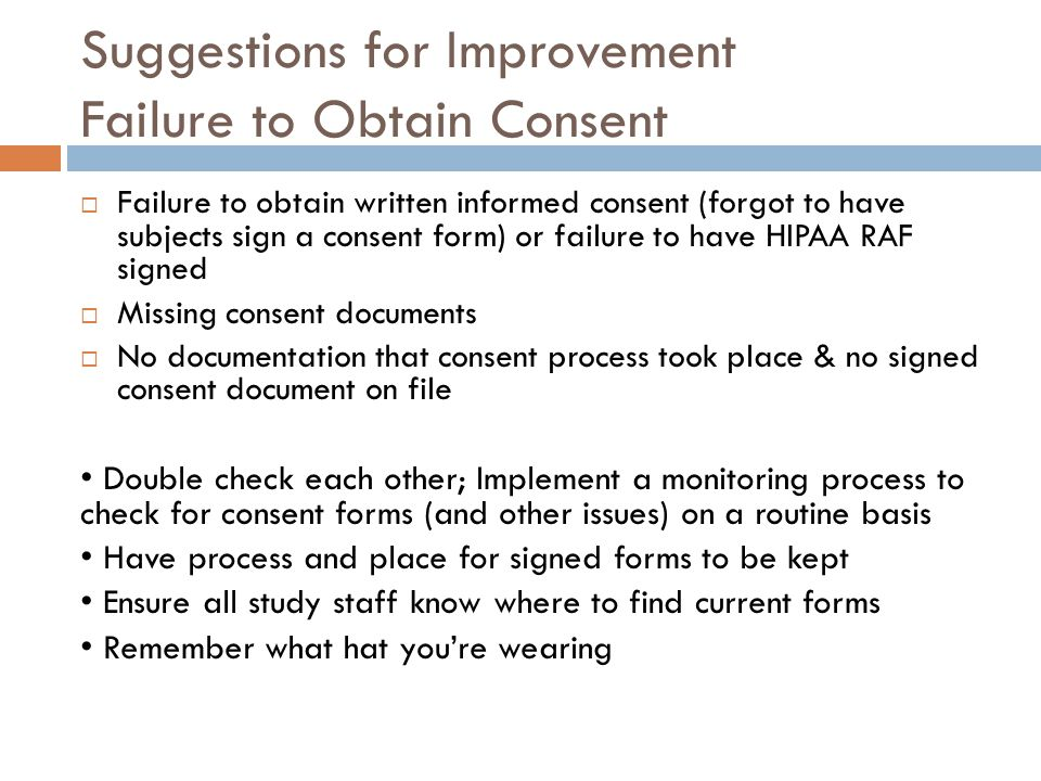 Common Problems In Informed Consent  Ppt Video Online Download