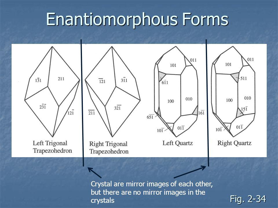 Enantiomorphous Forms
