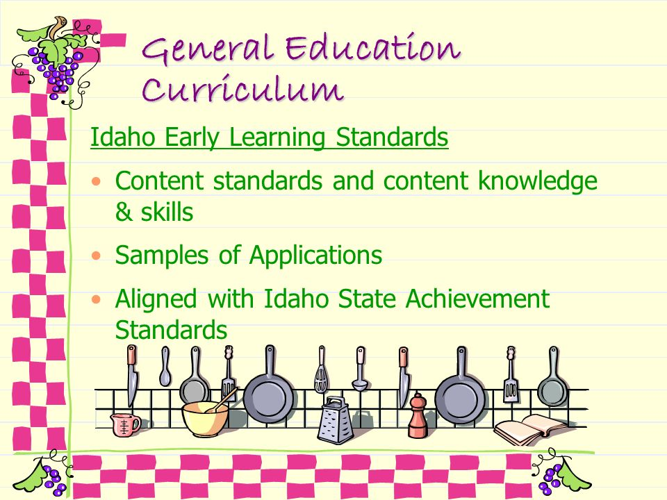 General Education Curriculum