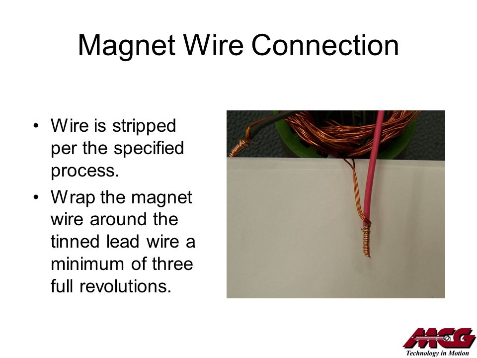 Magnet Wire Connection
