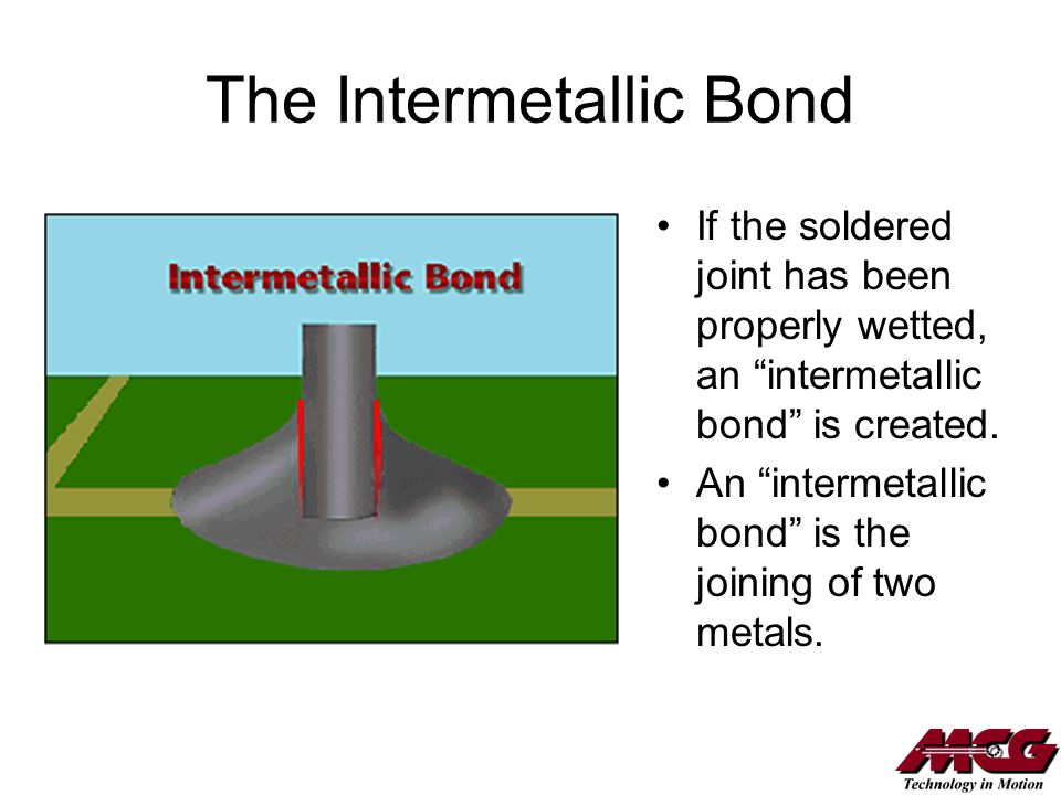 The Intermetallic Bond