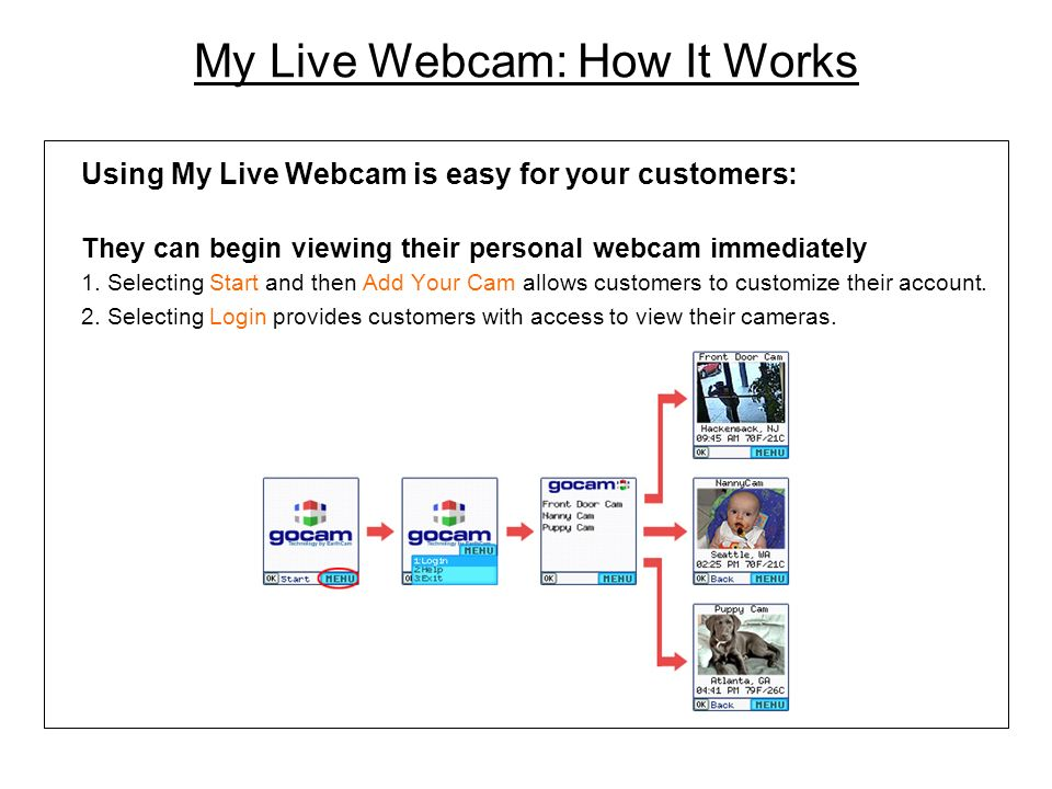 My Live Webcam: How It Works
