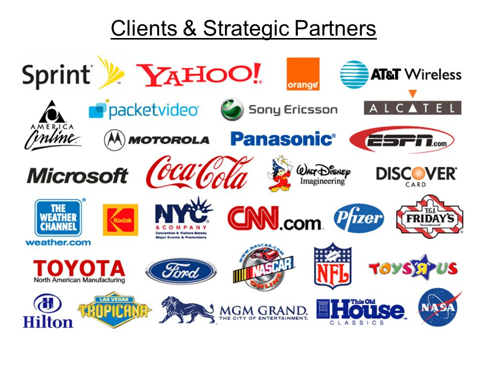 Clients & Strategic Partners