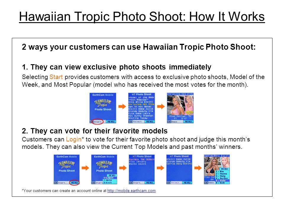 Hawaiian Tropic Photo Shoot: How It Works