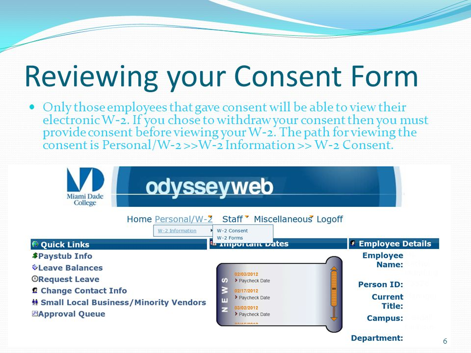 Reviewing your Consent Form