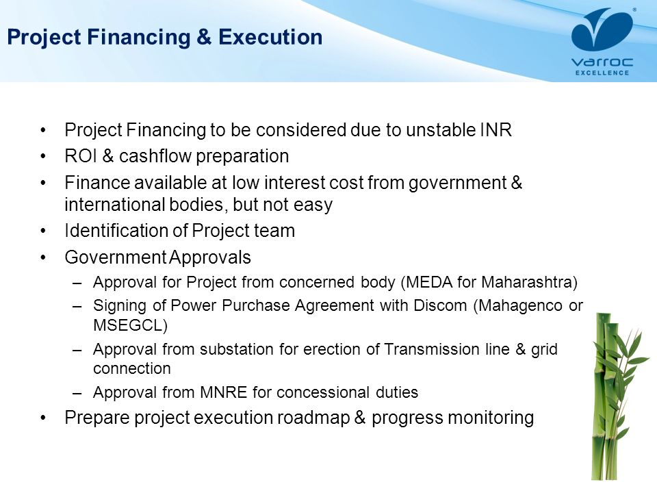 Project Financing & Execution