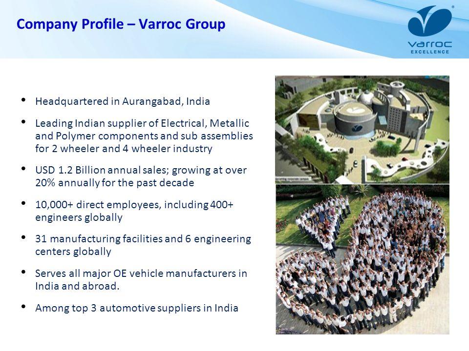 Company Profile – Varroc Group