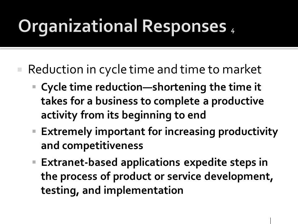 Organizational Responses 4
