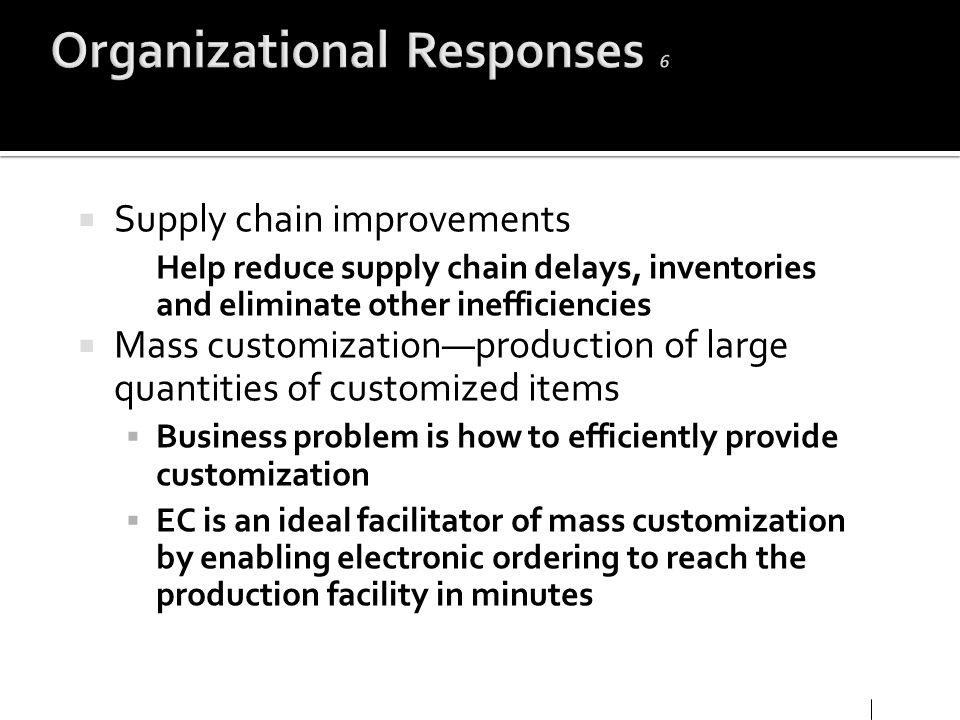 Organizational Responses 6