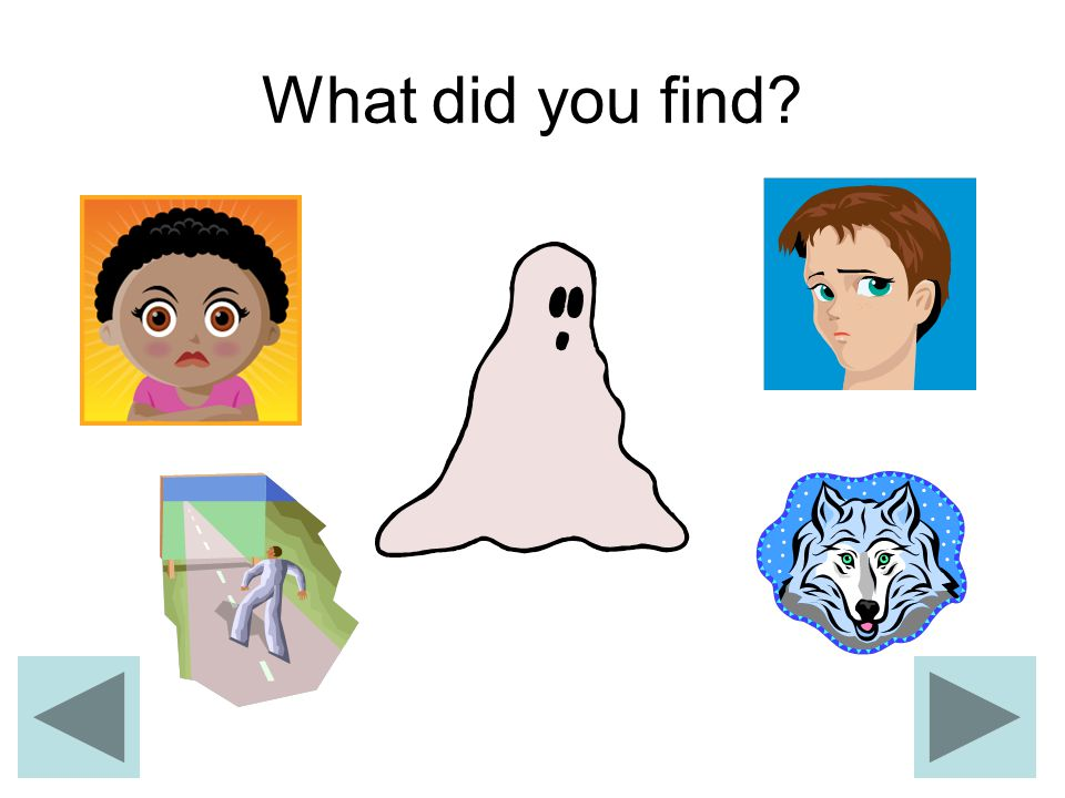 What did you find