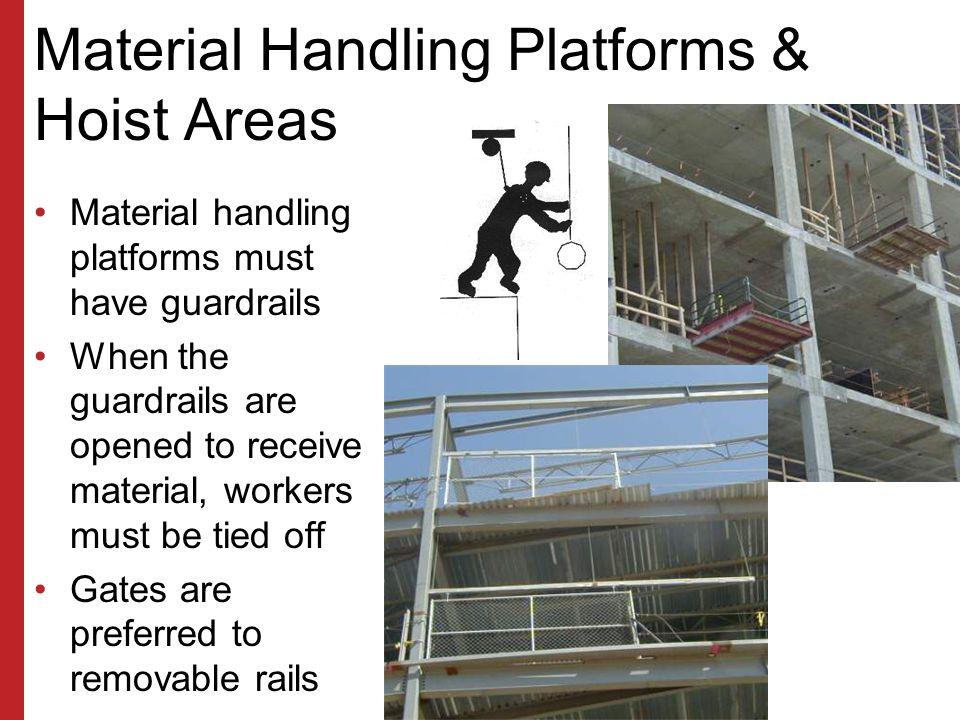 Material Handling Platforms & Hoist Areas