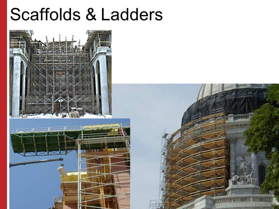 Scaffolds & Ladders Susan Harwood Training Grant Program (2006) Focus Four Hazards in the Construction Industry.