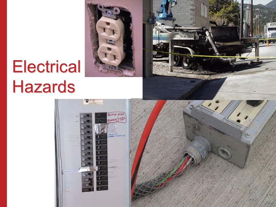 Electrical Hazards Susan Harwood Training Grant Program (2006) Focus Four Hazards in the Construction Industry.