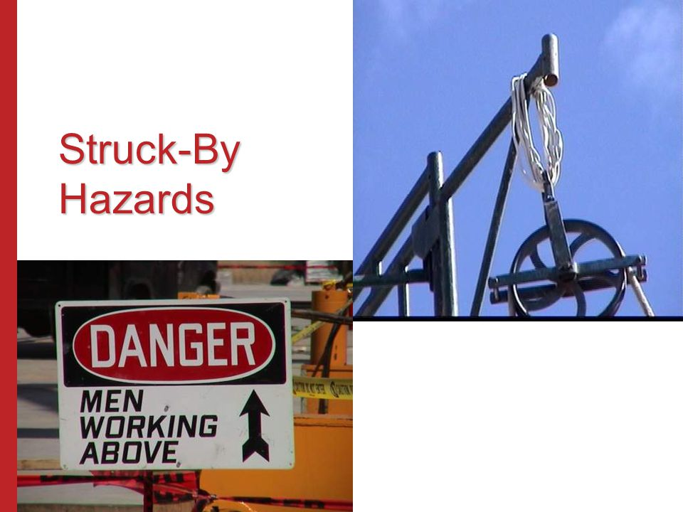 Struck-By Hazards Susan Harwood Training Grant Program (2006) Focus Four Hazards in the Construction Industry.