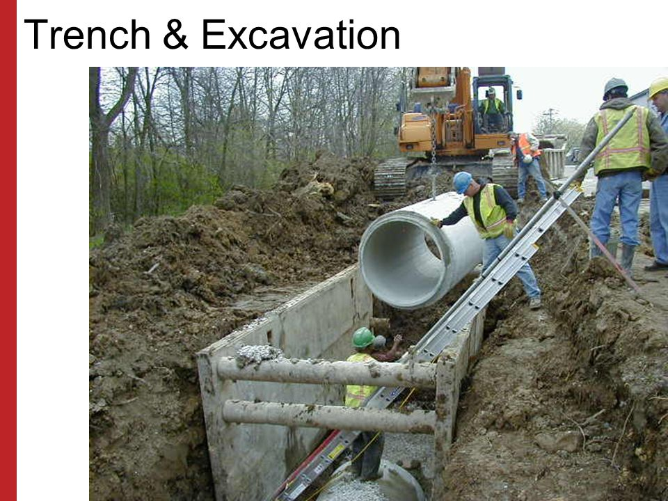 Trench & Excavation Susan Harwood Training Grant Program (2006) Focus Four Hazards in the Construction Industry.