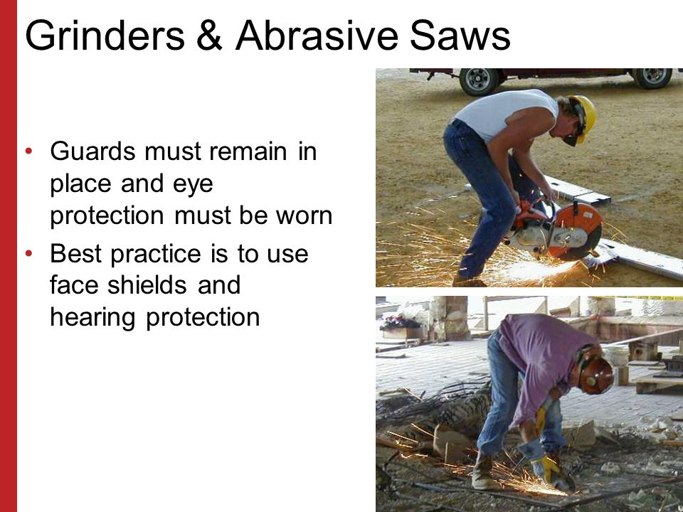 Grinders & Abrasive Saws
